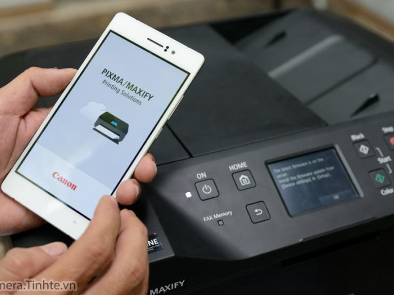 Đánh giá máy in Canon Maxify MB5370 - Máy phun màu đa chức năng tiết kiệm mực