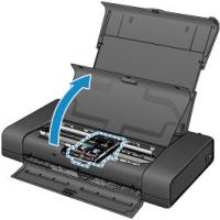 Hướng dẫn thay mực và kiểm tra đầu phun máy in Canon Pixma IP110