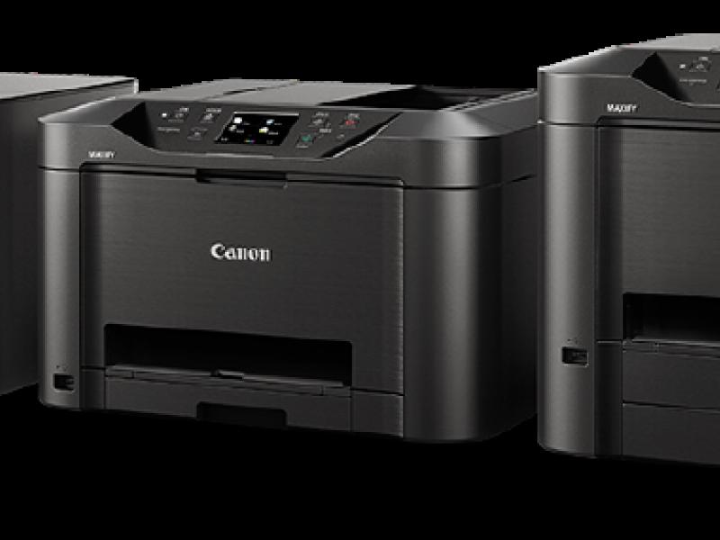 Giới thiệu dòng sản phẩm máy in phun tốc độ cao , công suất lớn Canon MAxify