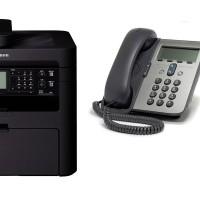 Hướng dẫn thiết lập vừa nhận Fax vừa sử dụng điện thoại (trên cùng 1 số điện thoại) trên máy Canon MF215 / MF217