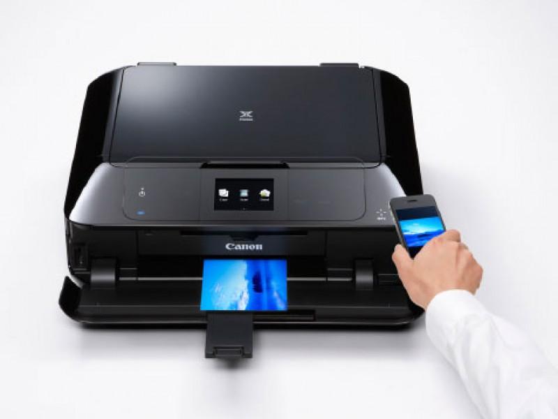 Thử nghiệm tính năng in qua NFC ở các máy in thế hệ mới của Canon