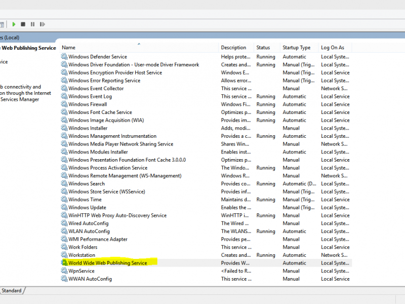 Hướng dẫn khắc phục lỗi Xampp/Wampp/Appserv không Start được Apache tren Win10