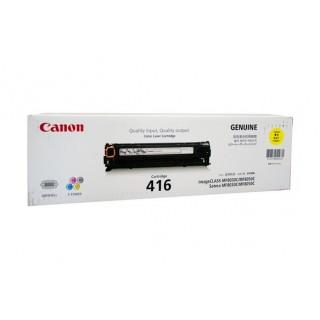 Mực in Canon 416Y Yellow Color Toner Cartridge dùng cho máy MF8010Cn / MF8030Cn / MF8050Cn / MF8080Cw