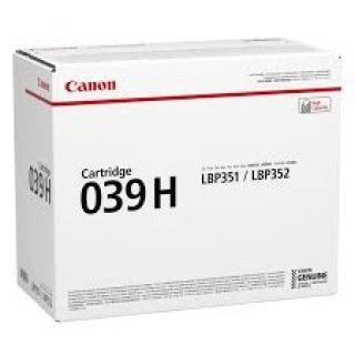 Mực in Canon 039H Black Toner Cartridge dùng cho LBP351x LBP352x