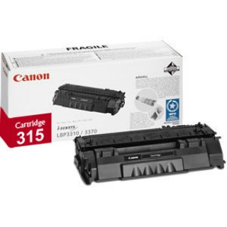 Mực in Canon 315 Black Laser Toner Cartridge dùng cho máy LBP3310 / LBP3370