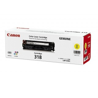 Mực in Canon 318Y Yellow Toner Cartridge dùng cho máy LBP7200Cd / LBP7200Cdn /LBP7680Cx