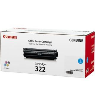 Mực in Canon 322C Cyan Toner Cartridge  For Canon LBP9100cdn