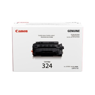 Mực in Canon 324 Black Laser Toner Cartridge