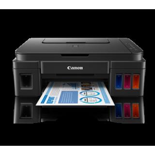 Máy in Canon Pixma G2000 (Mới) Print- Scan - Fax sử dụng mực liên tục chính hãng từ Canon